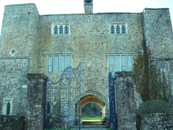 Bickleigh Castle gatehouse