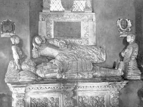 Sir Henry Carew (d.1681) monument in St Mary's Church