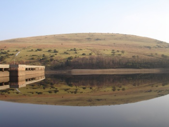 Reflections in Meldon Reservoir
