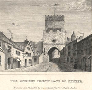 North Gate, Exeter