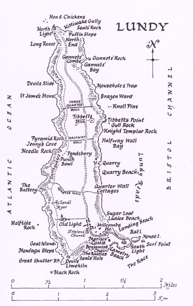 Map of Lundy �Lundy Field Society