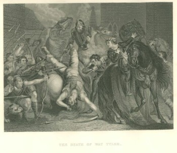 print from Death of Wat Tyler