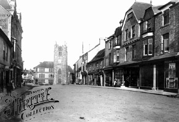Fore Street, 1895. Where is everyone?