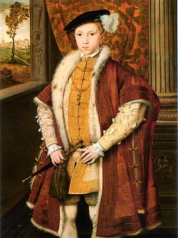 The young King Edward VI