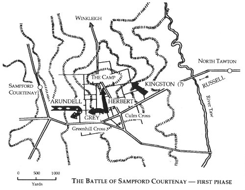 Battle of Sampford Courtenay, August 17th, 1549
