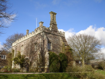 The gatehouse of Affeton Castle in 2009